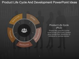 Product Life Cycle And Development Powerpoint Ideas