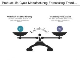Product Life Cycle Manufacturing Forecasting Trend Analysis Business Methodologies Cpb