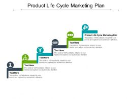 Product Life Cycle Marketing Plan Ppt Powerpoint Presentation Infographics Topics Cpb