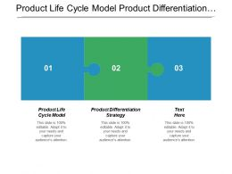 Product Life Cycle Model Product Differentiation Strategy Globalization Strategy Cpb