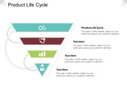 Product Life Cycle Ppt Powerpoint Presentation Infographic Template Graphics Design Cpb