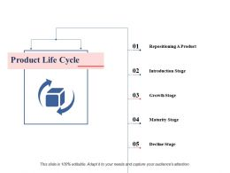 Product Life Cycle Ppt Professional Information