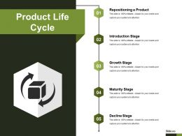 Product Life Cycle Presentation Layouts