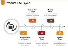 Product Life Cycle Presentation Portfolio