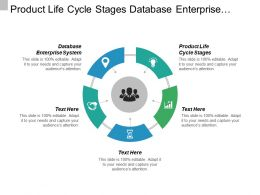 Product Life Cycle Stages Database Enterprise System Social Business Cpb