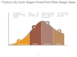 Product Life Cycle Stages Powerpoint Slide Design Ideas