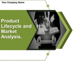 Product Lifecycle And Market Analysis Powerpoint Presentation Slides