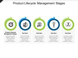 Product Lifecycle Management Stages Ppt Powerpoint Presentation Graphics Cpb