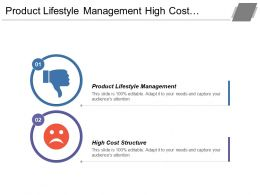 Product Lifestyle Management High Cost Structure Fluctuating Fuel Prices