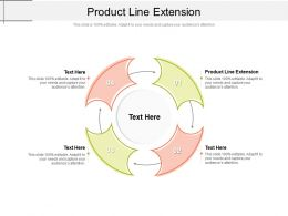 Product Line Extension Ppt Powerpoint Presentation Outline Images Cpb