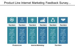 product_line_internet_marketing_feedback_survey_trading_strategy_cpb_Slide01