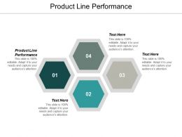 Product Line Performance Ppt Powerpoint Presentation Styles Clipart Images Cpb
