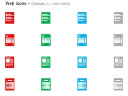 product_list_cart_shopping_cart_calender_ppt_icons_graphics_Slide02