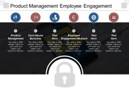 Product Management Employee Engagement Measure Core Values Business Cpb