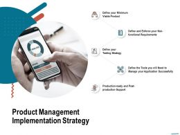 Product Management Implementation Strategy Tools You Ppt Powerpoint Presentation Background Images