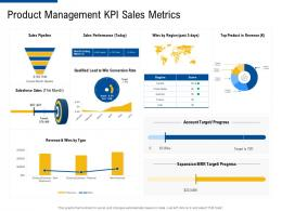 product management KPI sales metrics factor strategies for customer targeting ppt microsoft