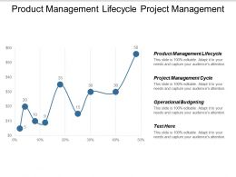 Product Management Lifecycle Project Management Cycle Operational Budgeting Cpb