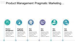 Product Management Pragmatic Marketing Distinctive Competence Industry Consolidation Alliances