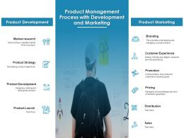 Product Management Process With Development And Marketing