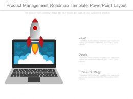 Product Management Roadmap Template Powerpoint Layout