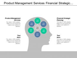 Product Management Services Financial Strategic Planning Workforce Report Cpb