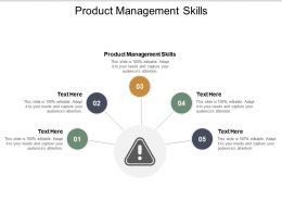 Product Management Skills Ppt Powerpoint Presentation Inspiration Ideas Cpb