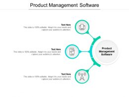 Product Management Software Ppt Powerpoint Presentation Professional Mockup Cpb