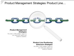 Product Management Strategies Product Line Positioning Extension Strategies
