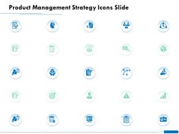 Product Management Strategy Icons Slide Ppt Powerpoint Presentation Templates
