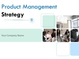 Product Management Strategy Powerpoint Presentation Slides