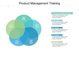 Product Management Training Ppt Powerpoint Presentation Gallery Graphic Tips Cpb