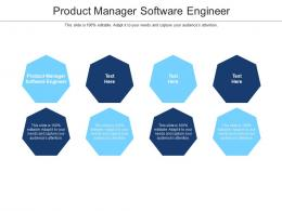 Product Manager Software Engineer Ppt Powerpoint Presentation Icon Backgrounds Cpb