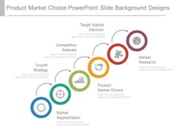 Product Market Choice Powerpoint Slide Background Designs
