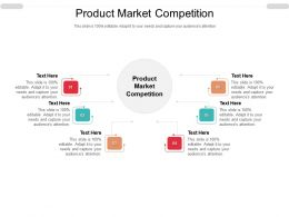 Product Market Competition Ppt Powerpoint Presentation Model Icon Cpb
