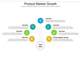 Product Market Growth Ppt Powerpoint Presentation Infographic Template Gridlines Cpb