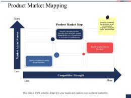 Product Market Mapping Ppt Professional Guidelines
