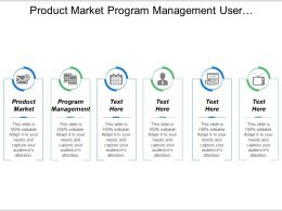 Product Market Program Management User Experience Information Technology
