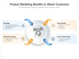 Product Marketing Benefits To Attract Customers