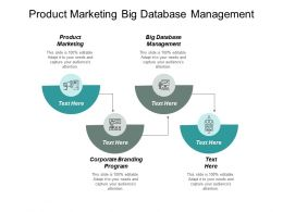 Product Marketing Big Database Management Corporate Branding Program Cpb