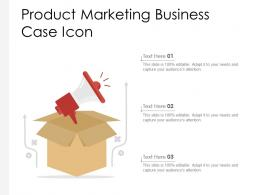 Product Marketing Business Case Icon