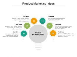 Product Marketing Ideas Ppt Powerpoint Presentation File Example Cpb