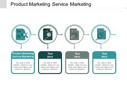 Product Marketing Service Marketing Ppt Powerpoint Presentation Inspiration Backgrounds Cpb