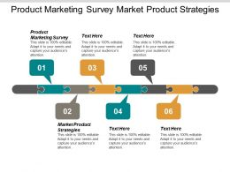 Product Marketing Survey Market Product Strategies Product Strategy Consulting Cpb