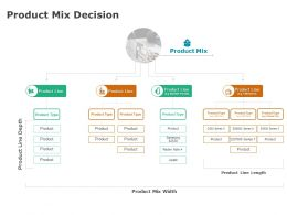 Product Mix Decision Management Strategy Ppt Powerpoint Presentation Infographic Template