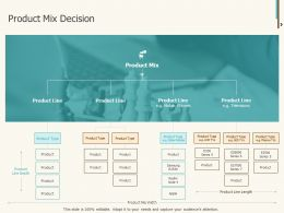 Product Mix Decision Ppt Powerpoint Presentation Summary Show