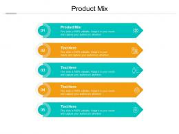 Product Mix Ppt Powerpoint Presentation Icon Design Inspiration Cpb