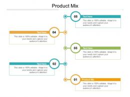 Product Mix Ppt Powerpoint Presentation Pictures Display Cpb