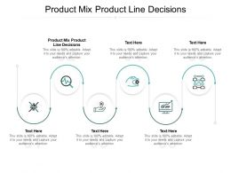 Product Mix Product Line Decisions Ppt Powerpoint Presentation File Guidelines Cpb