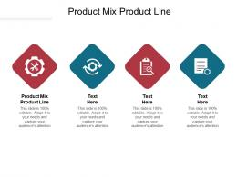 Product Mix Product Line Ppt Powerpoint Presentation Styles Slides Cpb