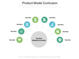 Product Model Curriculum Ppt Powerpoint Presentation Pictures Grid Cpb